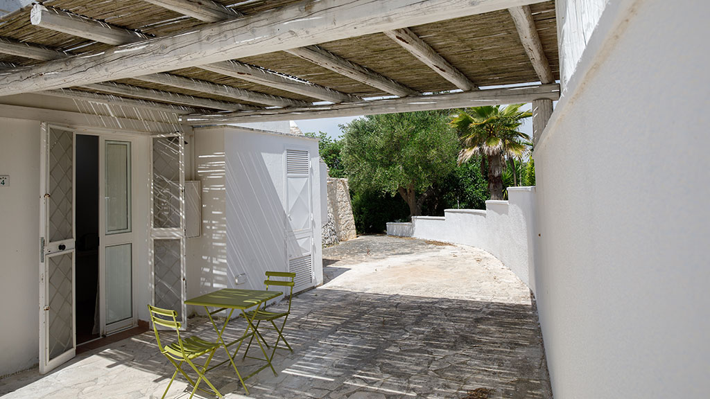Double room with patio in Ostuni
